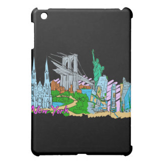 New York City - United States of America.png iPad Mini Cover