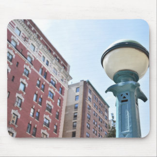 New York City Upper West Side Apartment Building Mouse Pad
