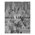 New York City Urban Jungle Travel Poster
