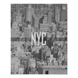 New York City Urban Jungle Travel Poster