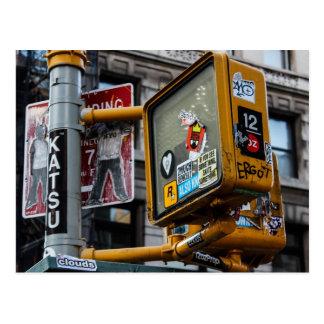 New York City Urban Street Photo Postcard