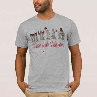 New York City Valentine NYC Landmarks Tee