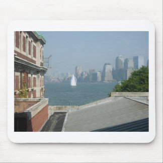 New York City View of the Bay Mouse Pad