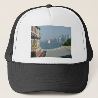 New York City View of the Bay Trucker Hat