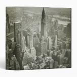 New York City Vinyl Binder