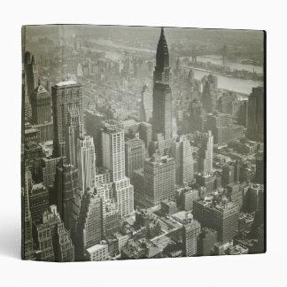 New York City Vinyl Binders