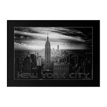USA Themed NEW YORK CITY wall panel Acrylic Print
