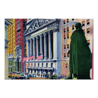 New York City Wall Street Posters