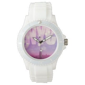 New York City Watch Purple