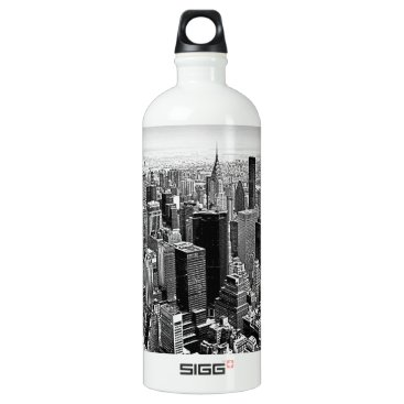 USA Themed New York City Water Bottle