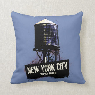 New York City Water Tower Cushion