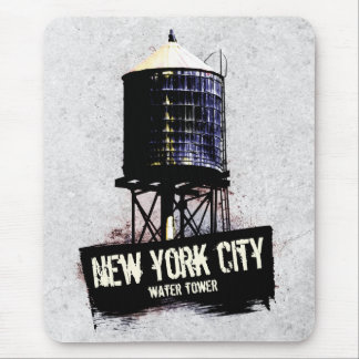 New York City Water Tower Mousemat Mouse Pad