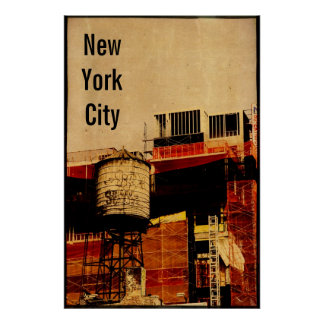 New York City Water Tower  Poster