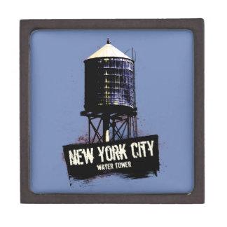 New York City Water Tower Trinket Box
