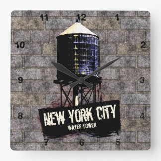 New York City Water Towers Clock
