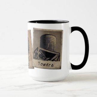 New York City Water Towers Mug