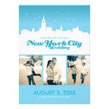 New York City Wedding Save-the-date Custom Invite