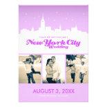 New York City Wedding Save-the-date Custom Invitation