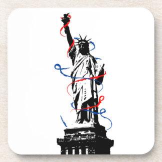 New York City White EDT Coaster