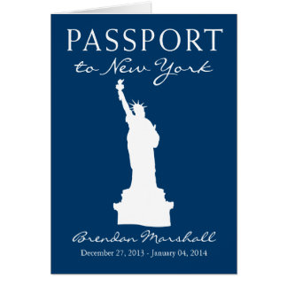 New York City Winter Holiday Passport Card