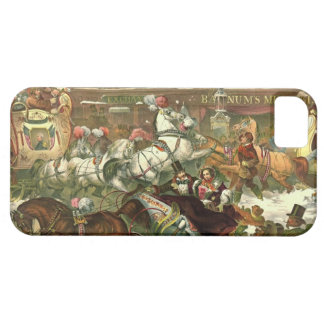 New York City Winter Traffic 1855 iPhone 5 Cases