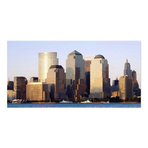 New York City World Trade Center Custom Photo Card