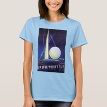 New York City World's Fair in 1939, Vintage Travel T-Shirt