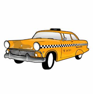 New York City Yellow Cab cartoon Cutout