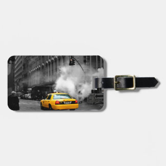 New York City Yellow Cab Etiqueta Para Maleta