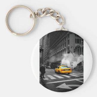 New York City Yellow Cab Keychain