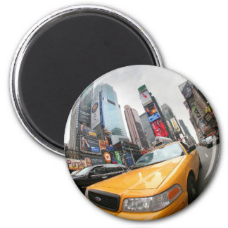 New York City Yellow Cab Magnet