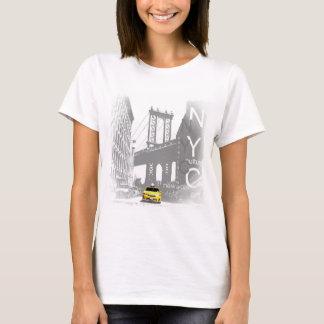 New York City Yellow Taxi Pop Art T-Shirt