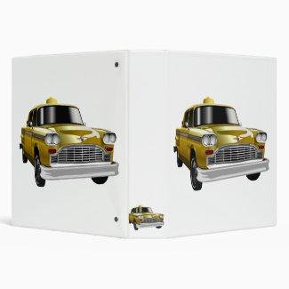 New York City Yellow Vintage Cab