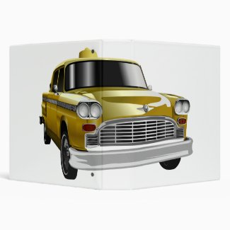 New York City Yellow Vintage Cab
