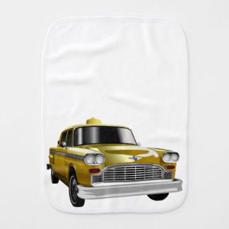 New York City Yellow Vintage Cab Burp Cloth