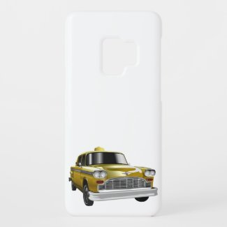 New York City Yellow Vintage Cab Case-Mate Samsung Galaxy S9 Case