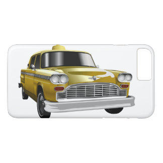 New York City Yellow Vintage Cab iPhone 8 Plus/7 Plus Case