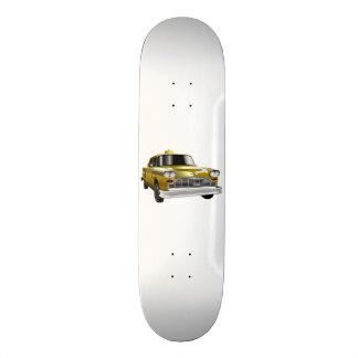 New York City Yellow Vintage Cab Skateboard