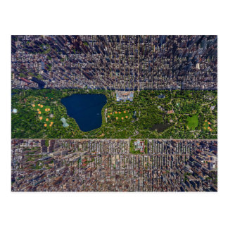 New York City's Central Park From Above Postcard