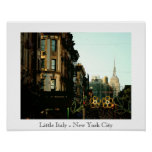 New York City's Famous Little Italy Print