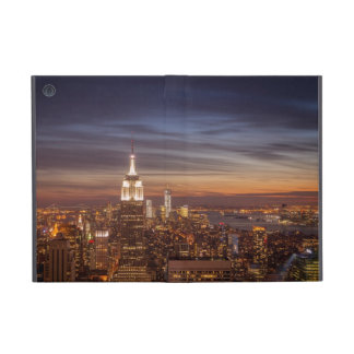 New York Cityscape Skyline - Skyscrapers at Sunset Covers For iPad Mini