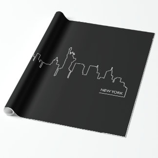 New York cityscape Wrapping Paper