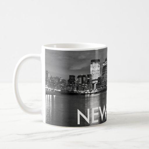NEW YORK CLASSIC WHITE COFFEE MUG
