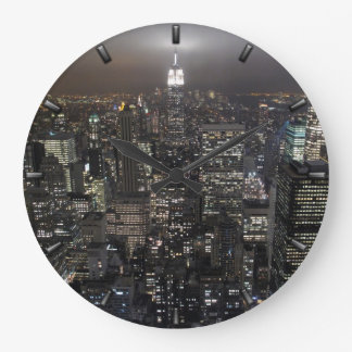 New York  Clock Gifts Decor NY Wall Clock