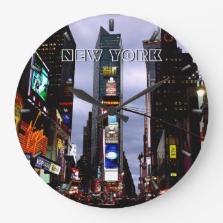 New York  Clock Times Square NY Wall Clock