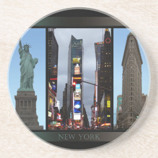 New York Coaster New York City Souvenir