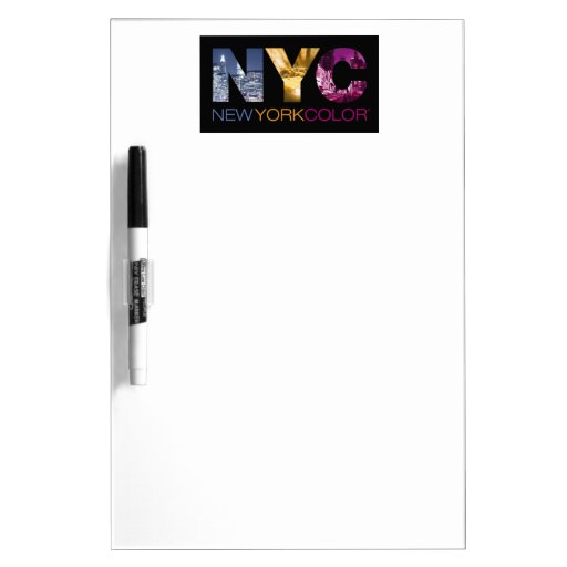 New York Color Collection Dry Erase Whiteboards