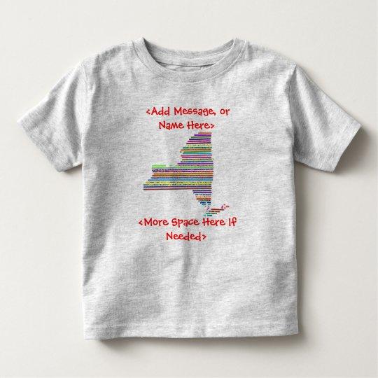 New York Colorful Customizable T-Shirt - Customize