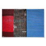 New York coloured wall Poster