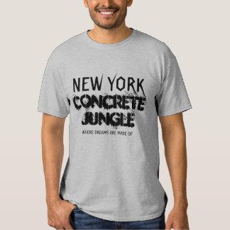 NEW YORK CONCRETE JUNGLE SHIRTS
